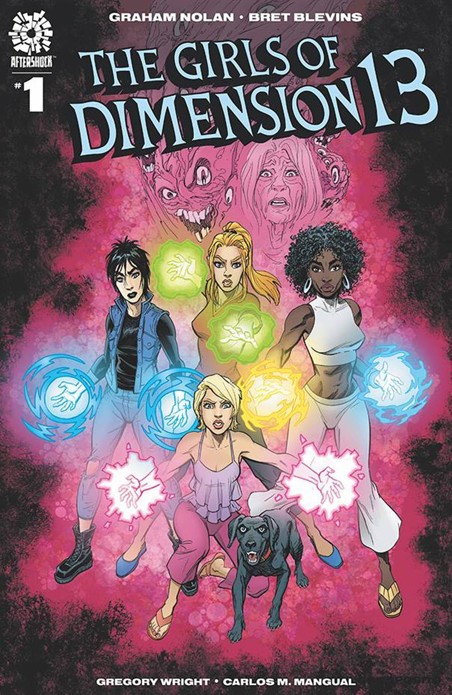 Girls Of Dimension 13 #1 Cover A Regular Bret Blevins & Greg Wright Cover