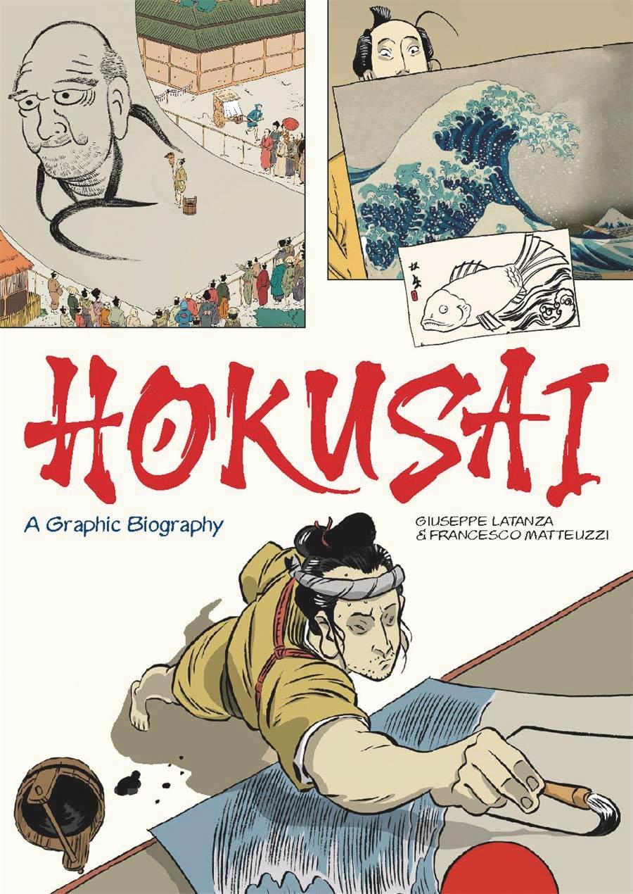 Hokusai A Graphic Biography HC