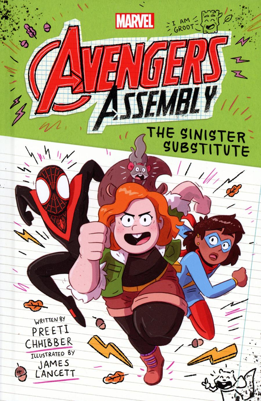 Marvel Avengers Assembly Vol 2 Sinister Substitute Novel HC