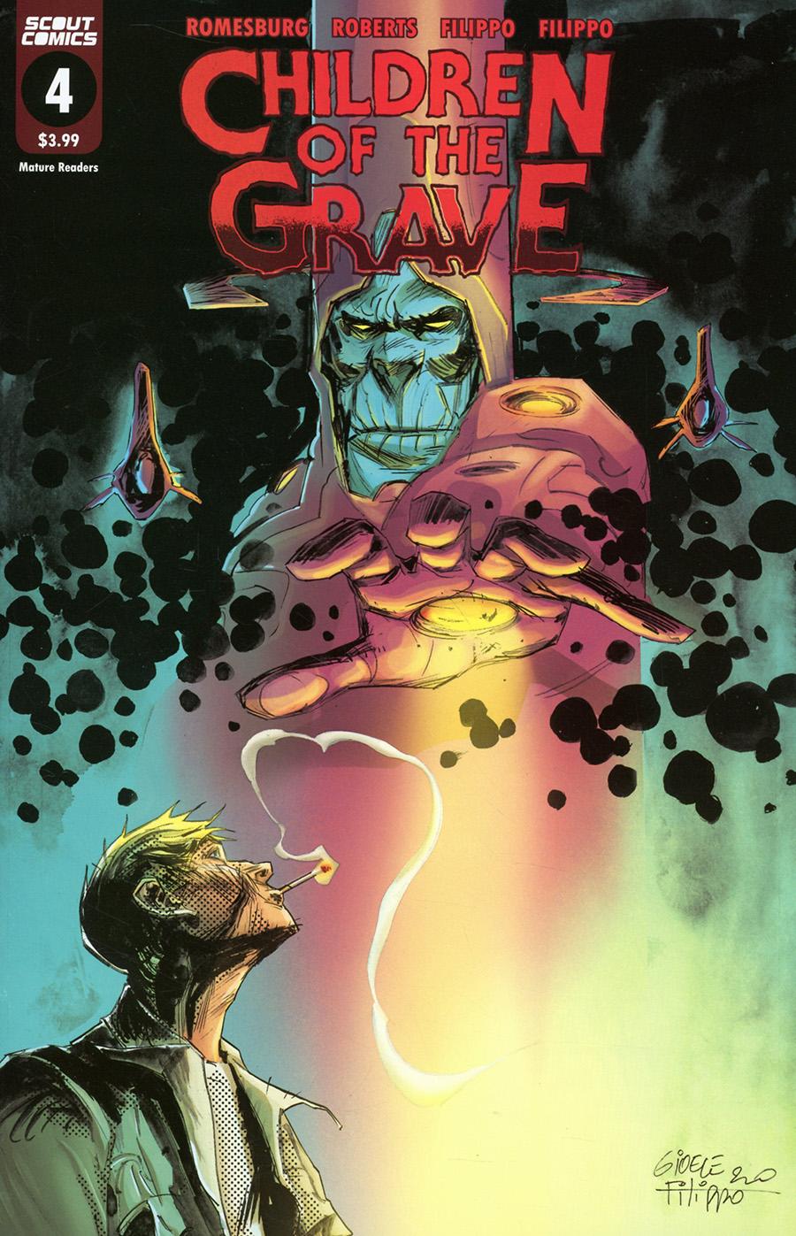 Children Of The Grave (Scout Comics) #4