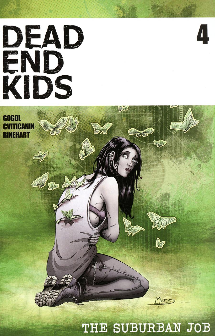 Dead End Kids Suburban Job #4 Cover A Regular Criss Madd Cover