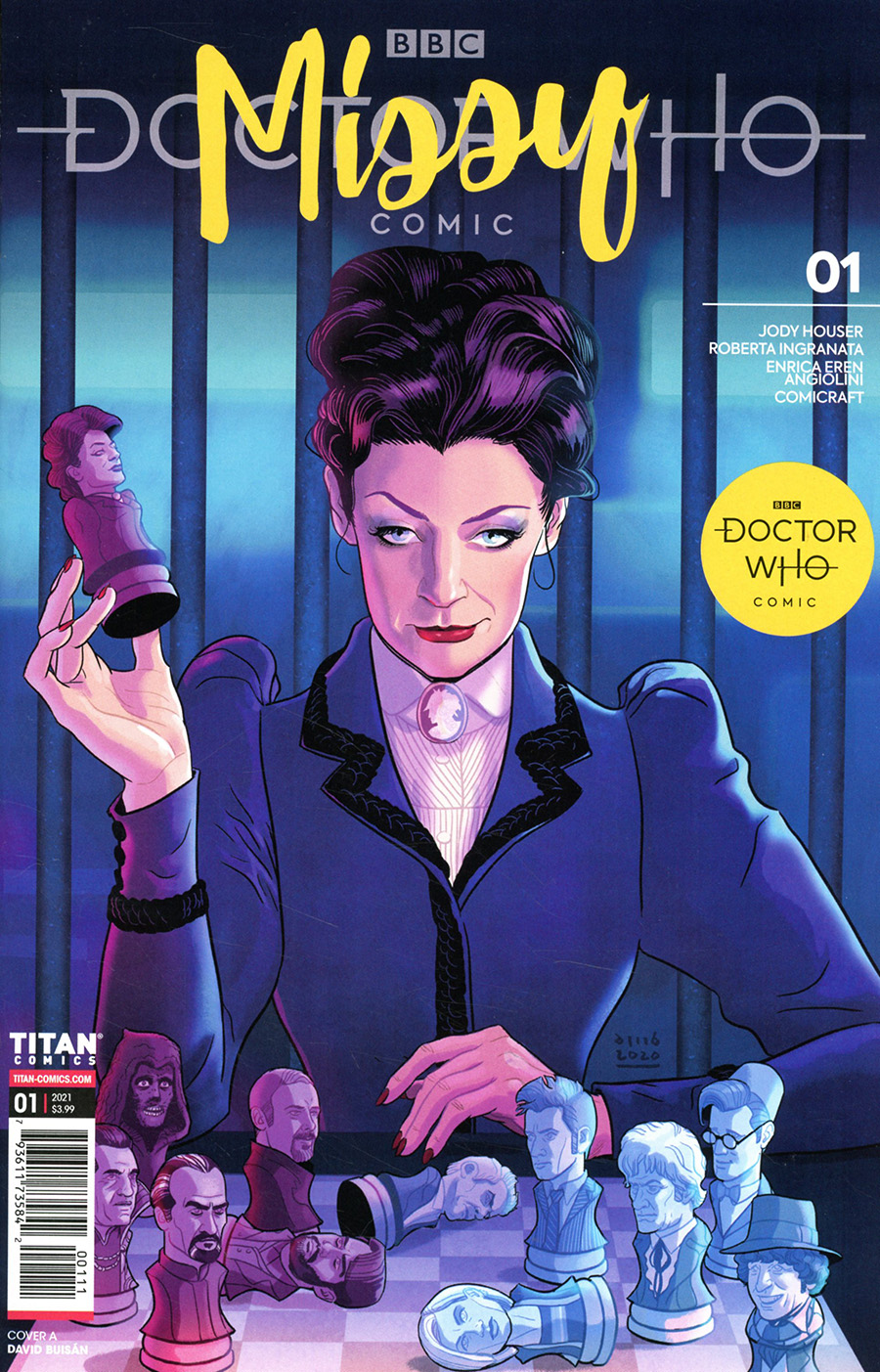 Doctor Who Missy #1 Cover A Regular David Buisan Cover