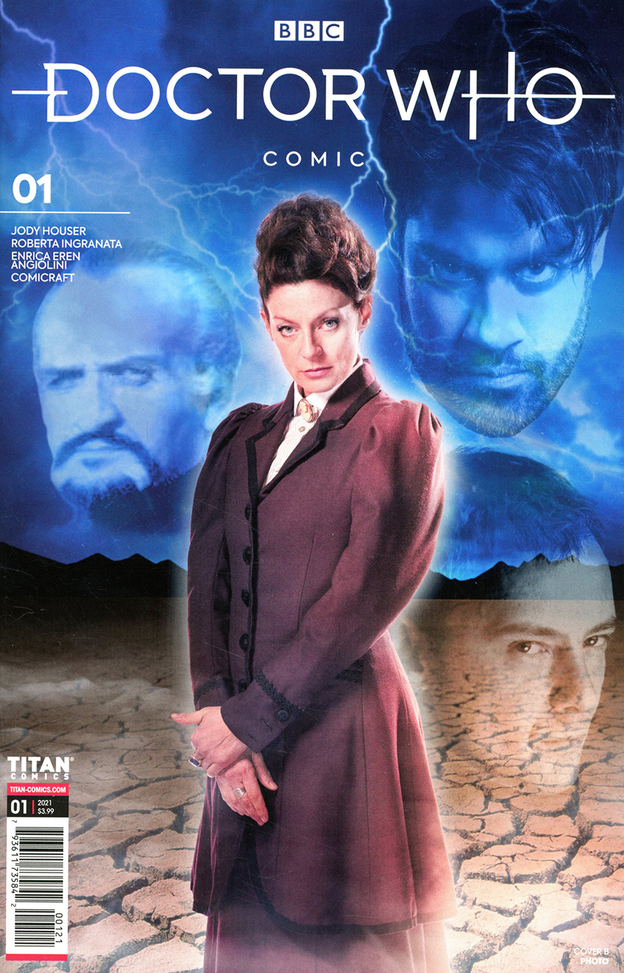 Doctor Who Missy #1 Cover B Variant Photo Cover