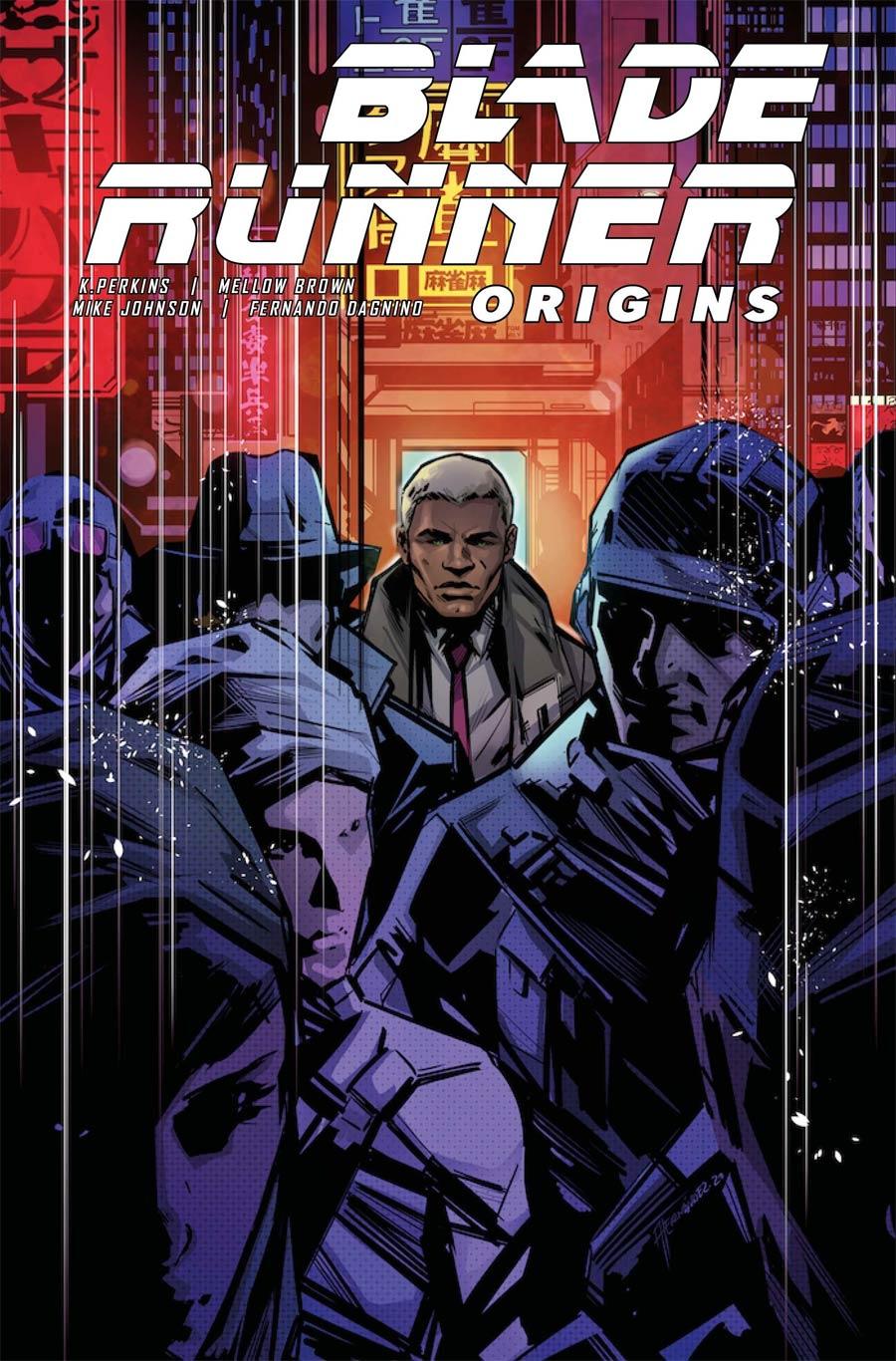 Blade Runner Origins #3 Cover A Regular Angel Hernandez Cover