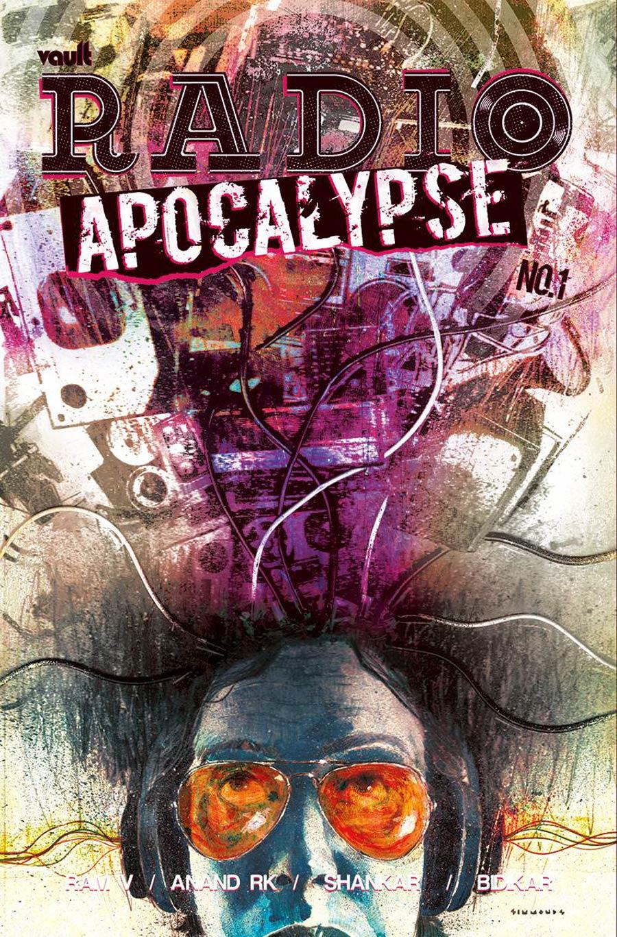 Radio Apocalypse #1 Cover B Variant Anand Radhakrishnan Cover - RESOLICITED