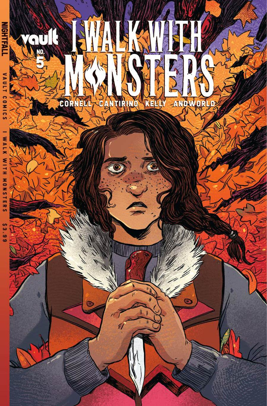 I Walk With Monsters #5 Cover A Regular Sally Cantirino Cover