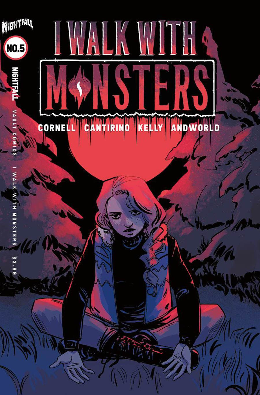 I Walk With Monsters #5 Cover B Variant Jen Hickman Cover