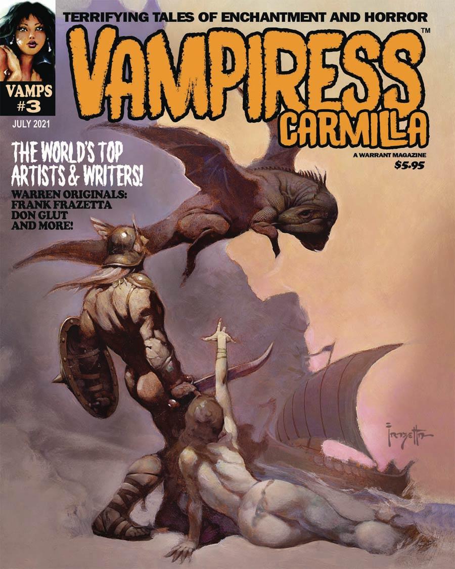 Vampiress Carmilla Magazine #3