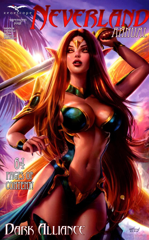Grimm Fairy Tales Presents Neverland Annual 2021 Cover C Sun Khamunaki