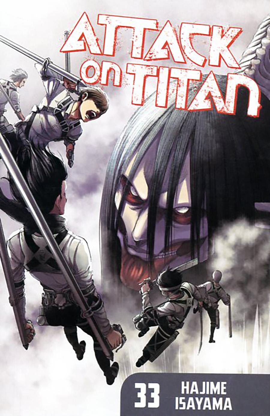 Attack On Titan Vol 33 GN