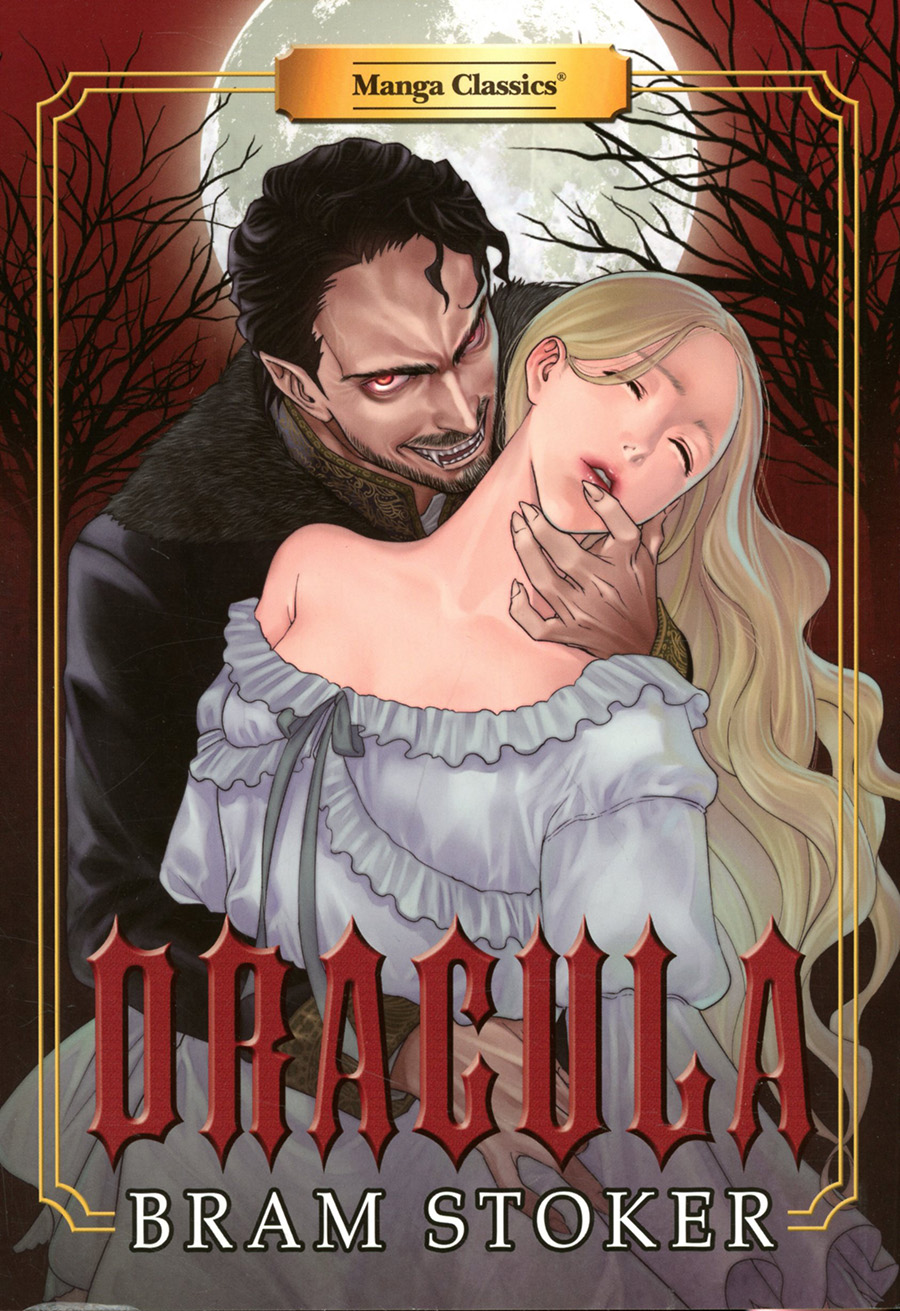 Manga Classics Dracula SC New Printing