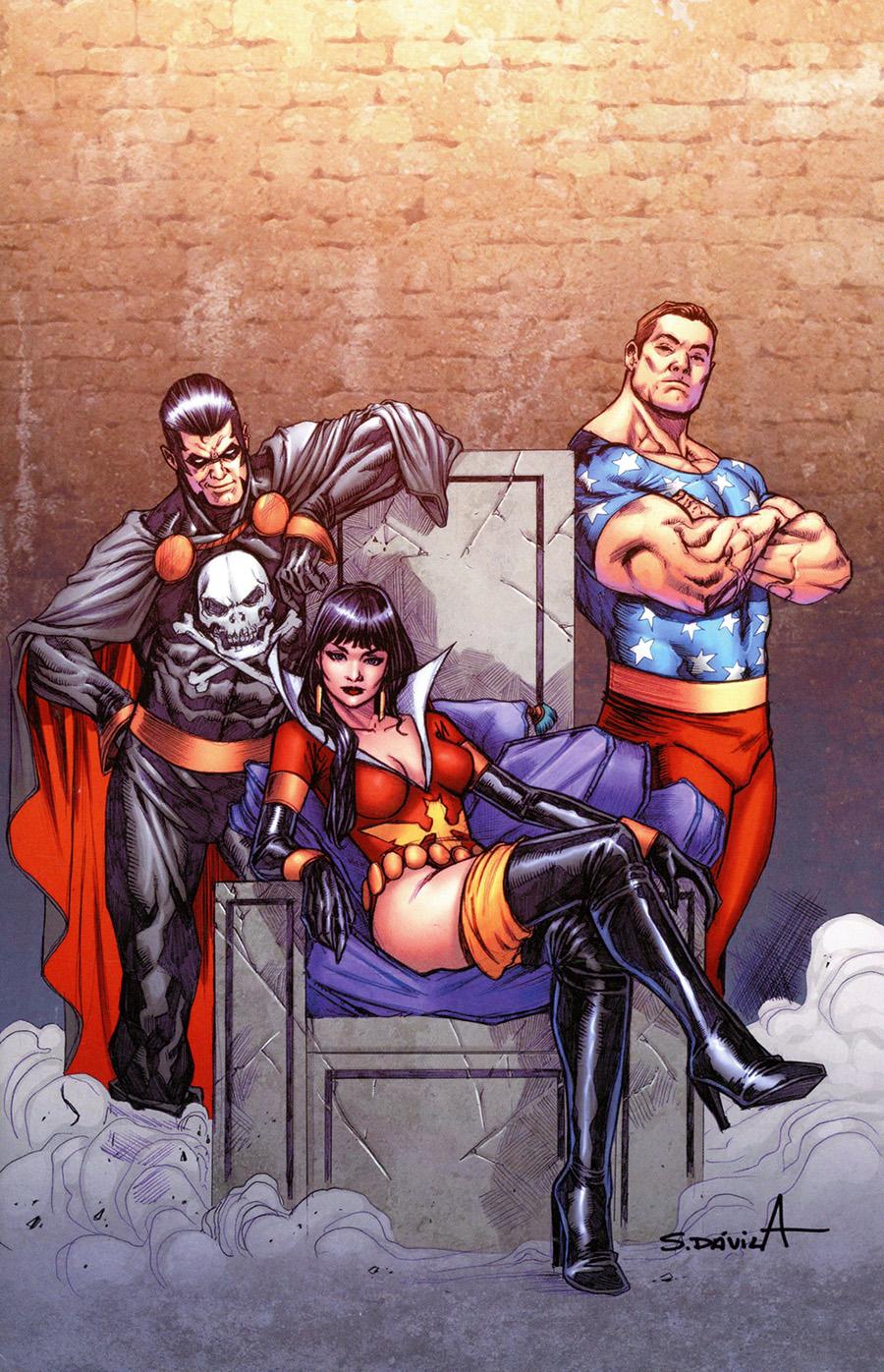 Vampirella The Dark Powers #5 Cover O Incentive Sergio Davila Virgin Cover