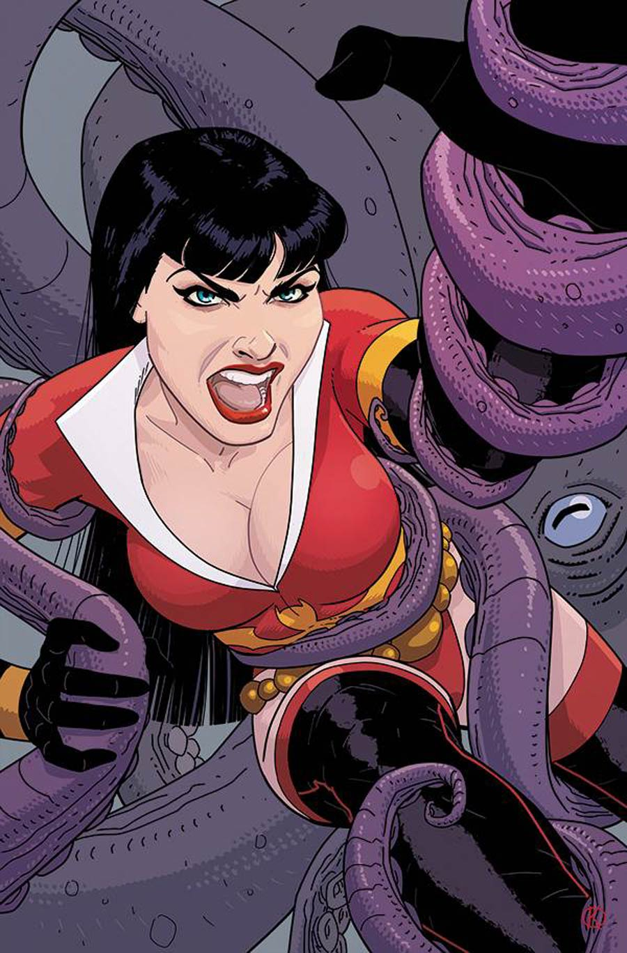 Vampirella The Dark Powers #5 Cover P Incentive Kano Virgin Cover