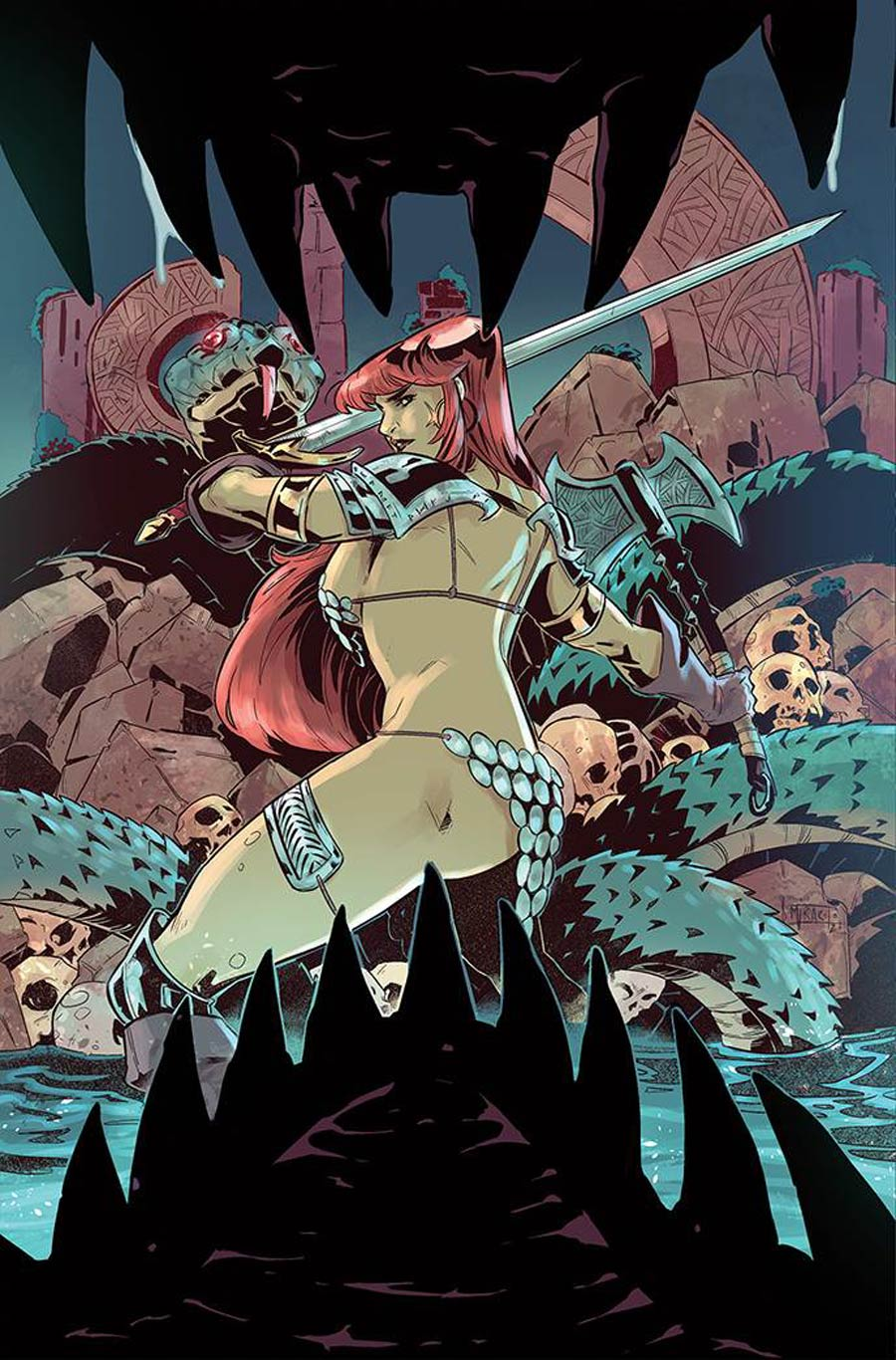 Red Sonja Vol 8 #26 Cover H Incentive Alessandro Miracolo Virgin Cover