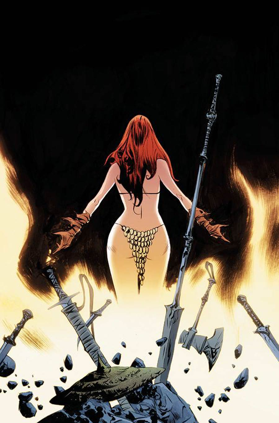 Red Sonja Vol 8 #26 Cover P Limited Edition Jae Lee Virgin Cover