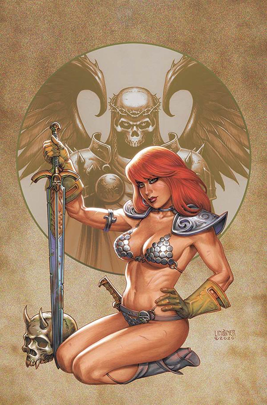 Red Sonja Vol 8 #26 Cover Q Limited Edition Joseph Michael Linsner Virgin Cover