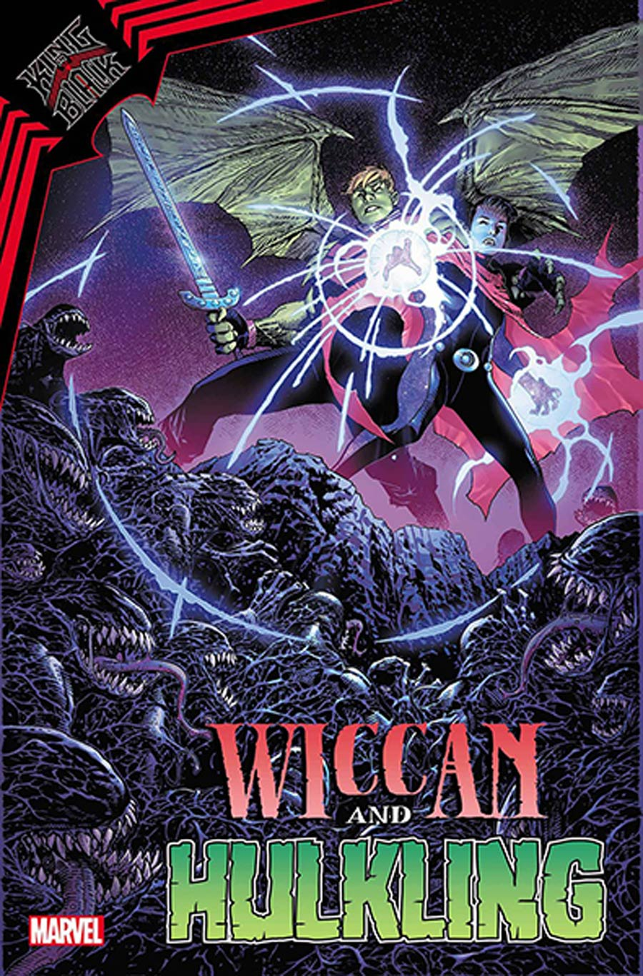 King In Black Wiccan And Hulkling #1 (One Shot) Cover D DF Signed By Jim Cheung