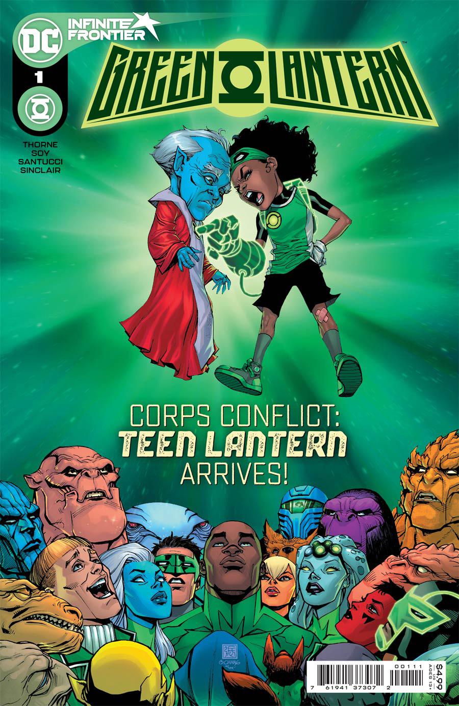 Green Lantern Vol 7 #1 Cover A Regular Bernard Chang Cover