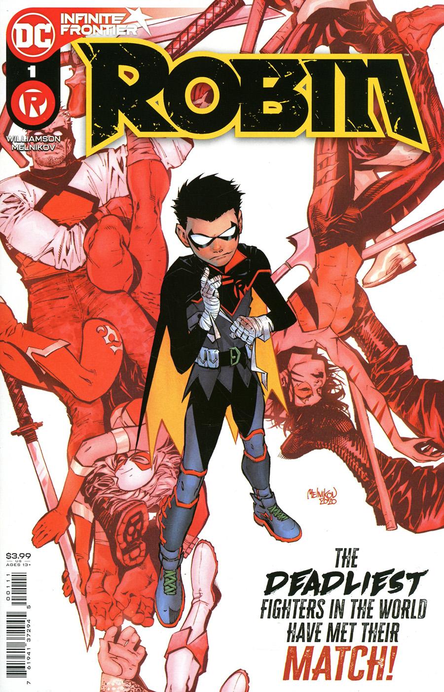 Robin Vol 5 #1 Cover A Regular Gleb Melnikov Cover