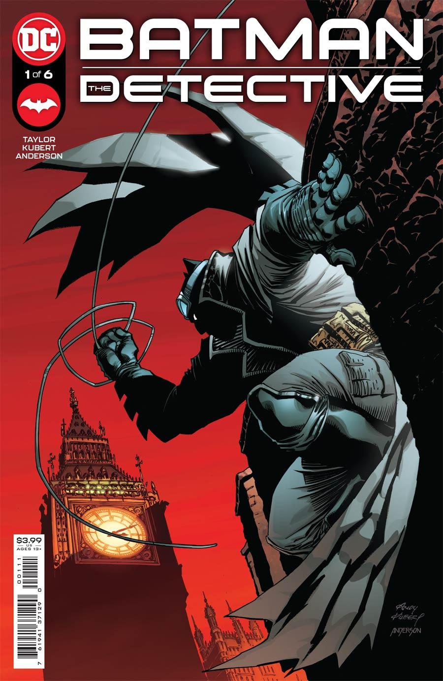 Batman The Detective #1 Cover A Regular Andy Kubert Cover