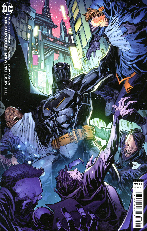 Next Batman Second Son #1 Cover B Variant Ken Lashley Card Stock Cover