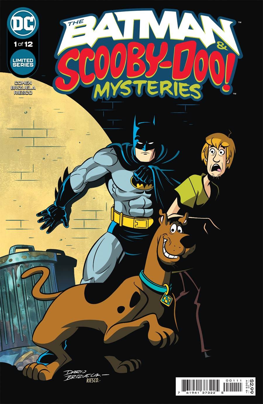 Batman & Scooby-Doo Mysteries #1