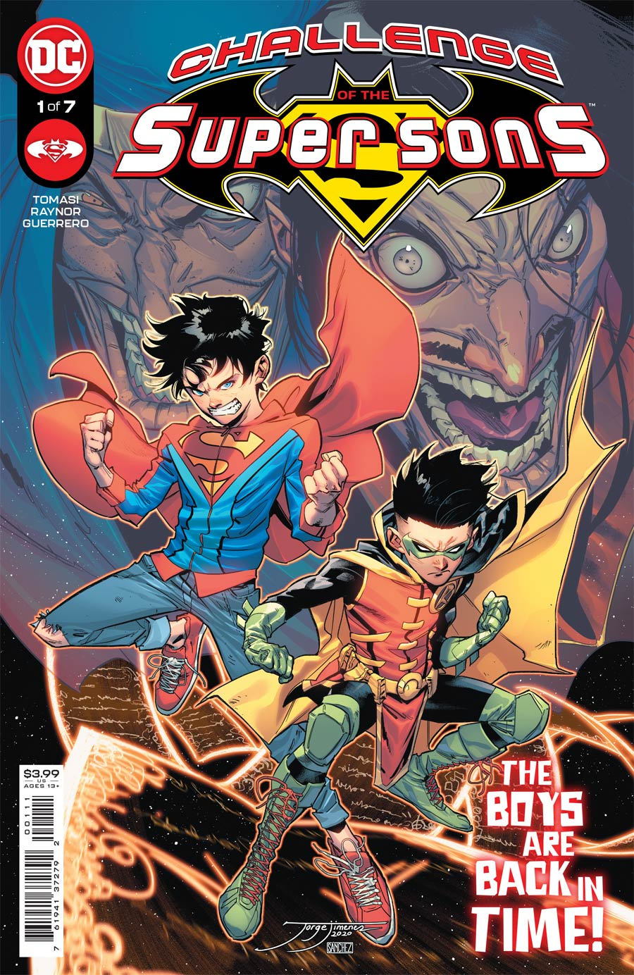 Challenge Of The Super Sons #1 Cover A Regular Jorge Jimenez Cover