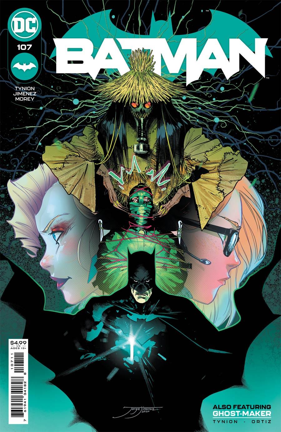 Batman Vol 3 #107 Cover A Regular Jorge Jimenez Cover