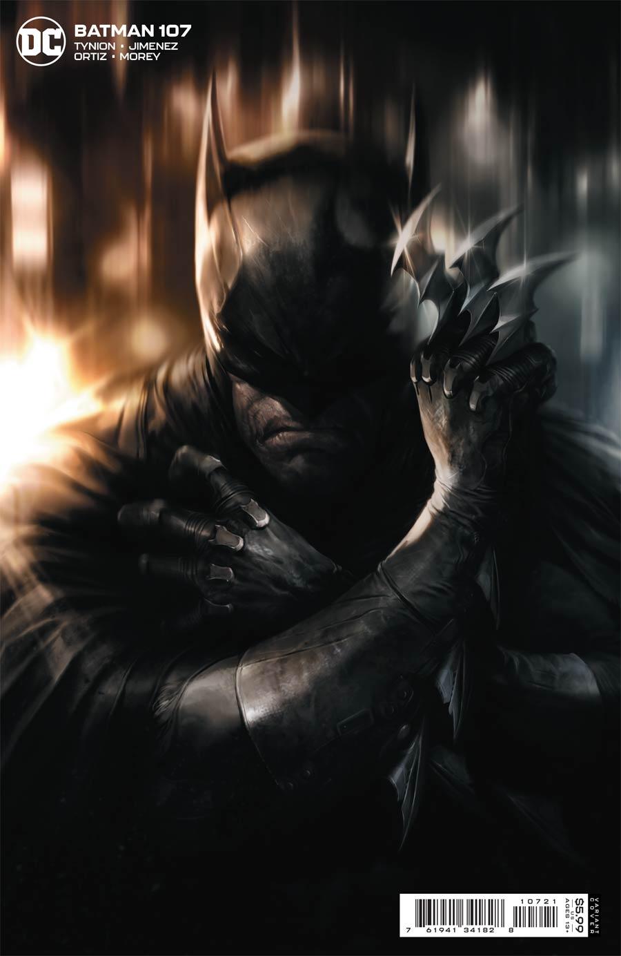 Batman Vol 3 #107 Cover B Variant Francesco Mattina Card Stock Cover