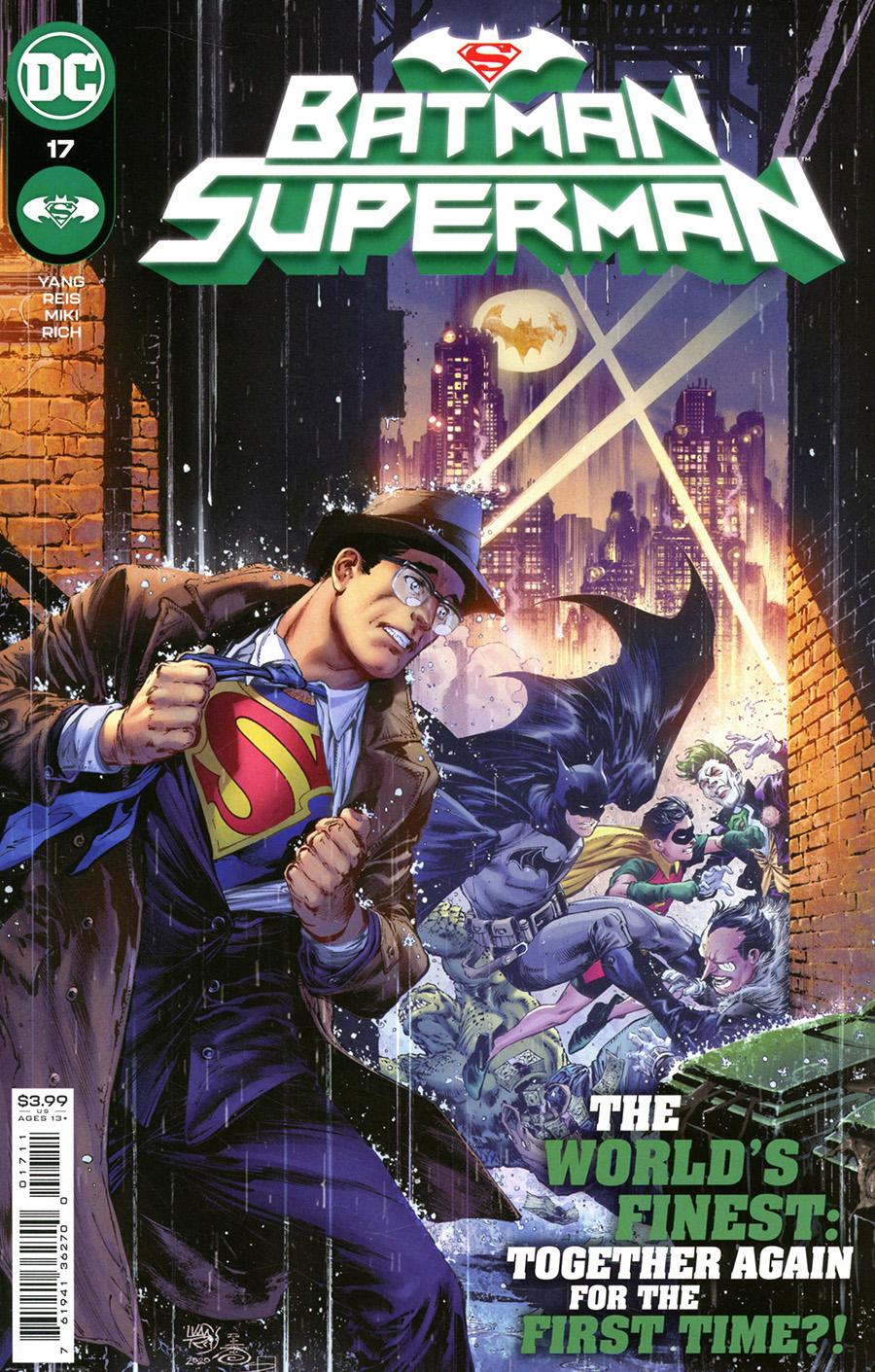 Batman Superman Vol 2 #17 Cover A Regular Ivan Reis & Danny Miki Cover
