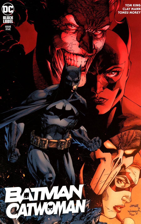 Batman Catwoman #5 Cover B Variant Jim Lee & Scott Williams Cover