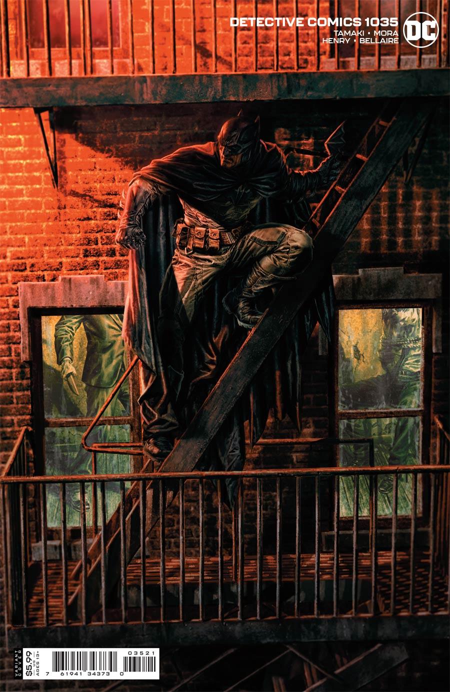 Detective Comics Vol 2 #1035 Cover B Variant Lee Bermejo Card Stock Cover