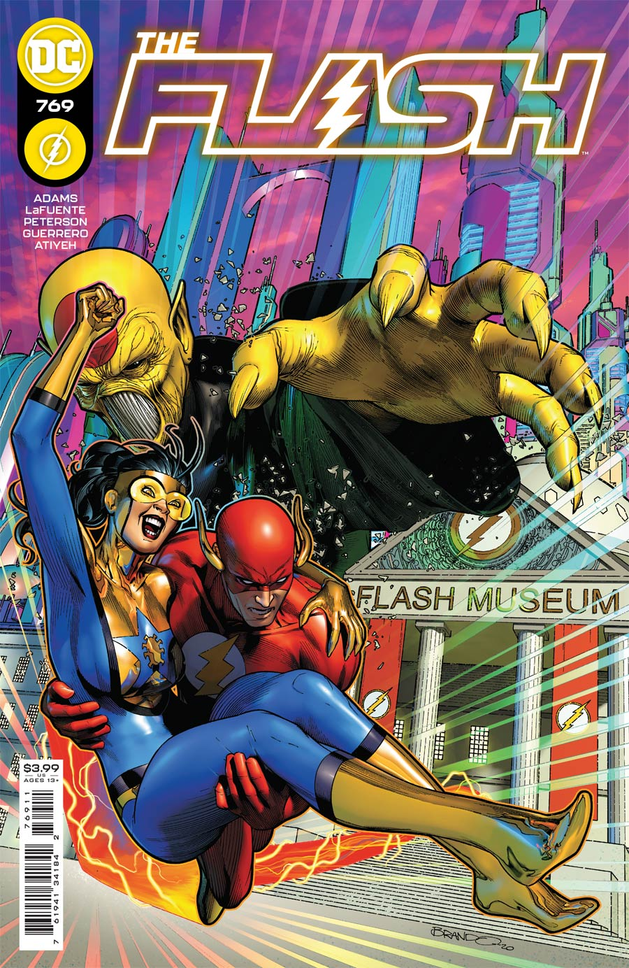Flash Vol 5 #769 Cover A Regular Brandon Peterson Cover