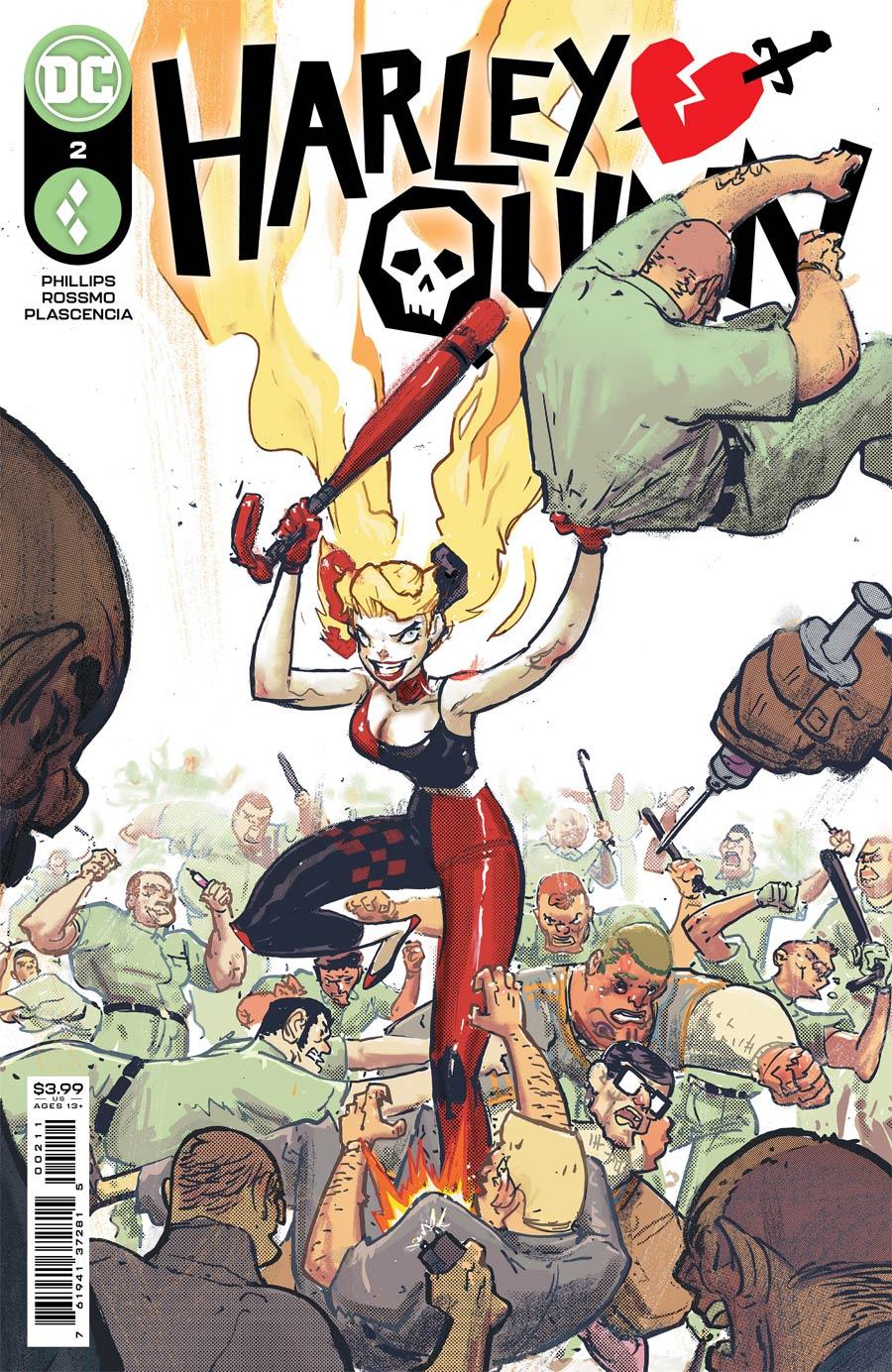 Harley Quinn Vol 4 #2 Cover A Regular Riley Rossmo Cover