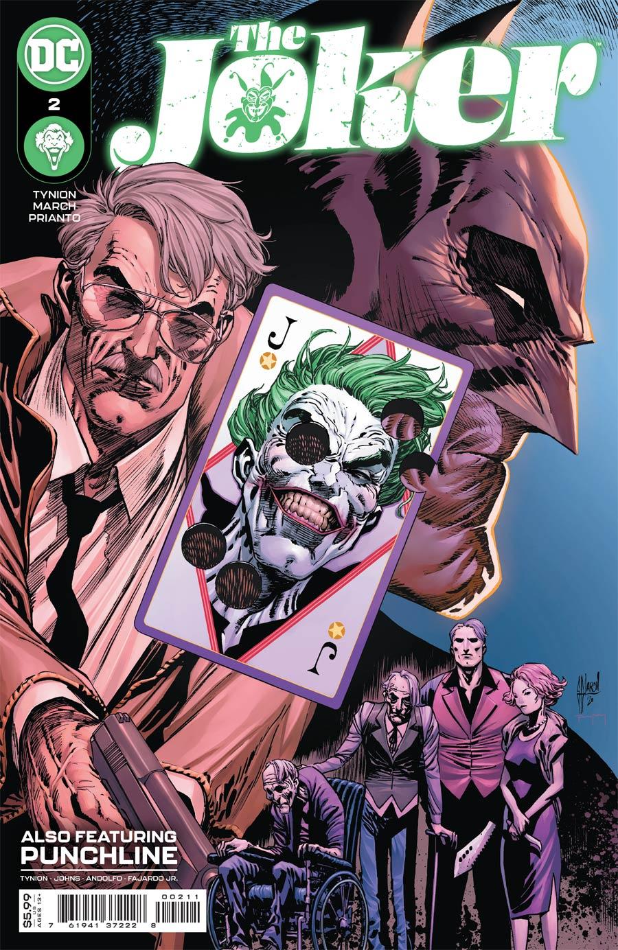 Joker Vol 2 #2 Cover A Regular Guillem March Cover