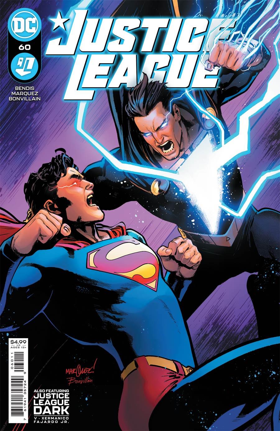 Justice League Vol 4 #60 Cover A Regular David Marquez Cover
