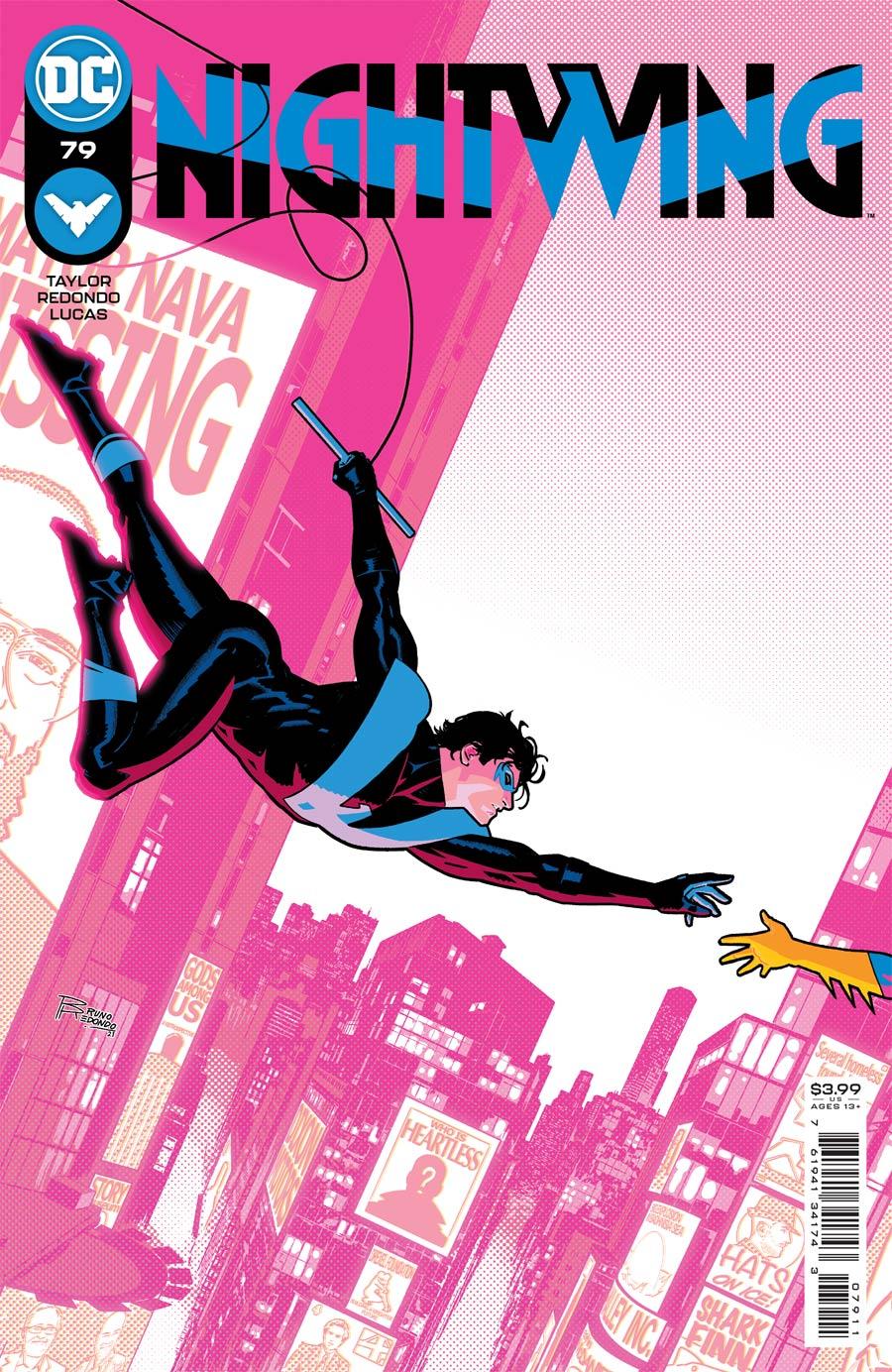 Nightwing Vol 4 #79 Cover A Regular Bruno Redondo Cover (Limit 1 Per Customer)