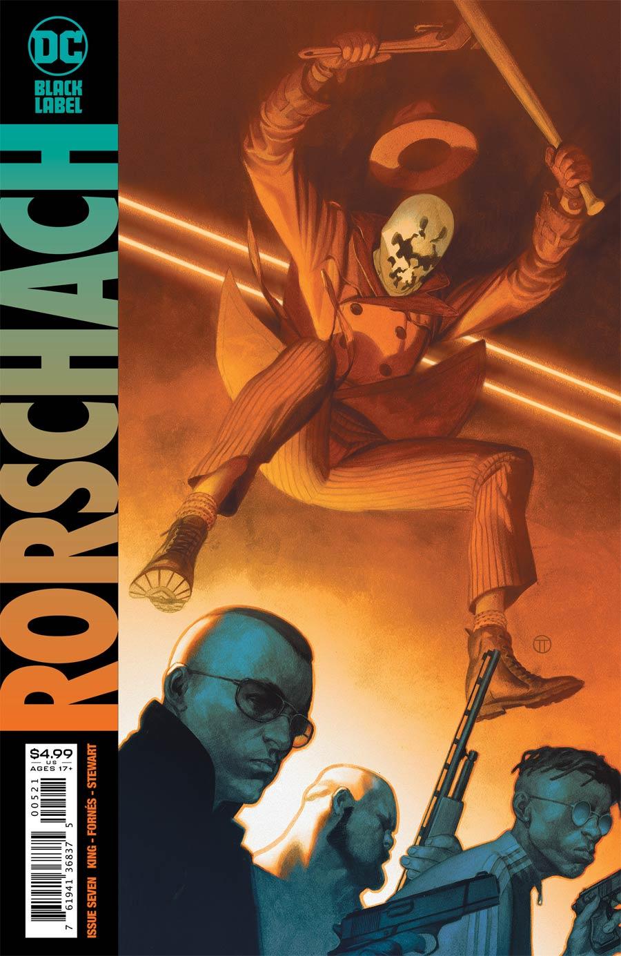 Rorschach #7 Cover B Variant Julian Totino Tedesco Cover