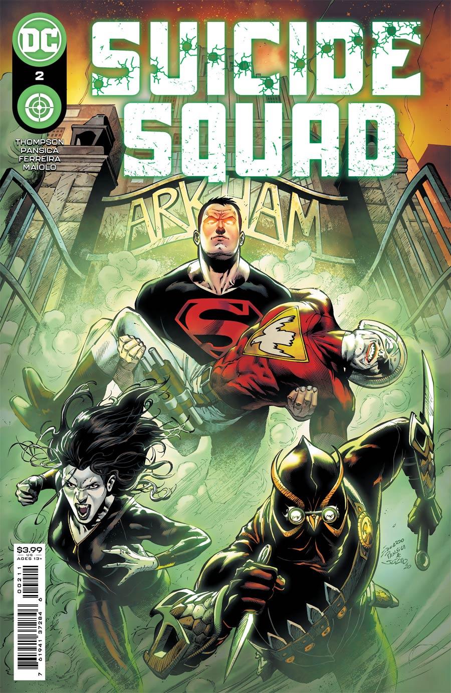 Suicide Squad Vol 6 #2 Cover A Regular Eduardo Pansica Cover