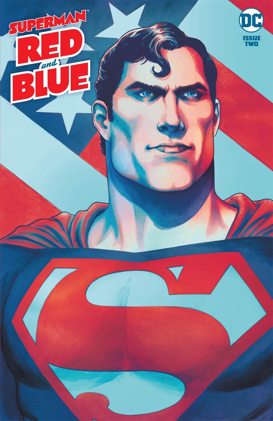 Superman Red & Blue #2 Cover A Regular Nicola Scott Cover