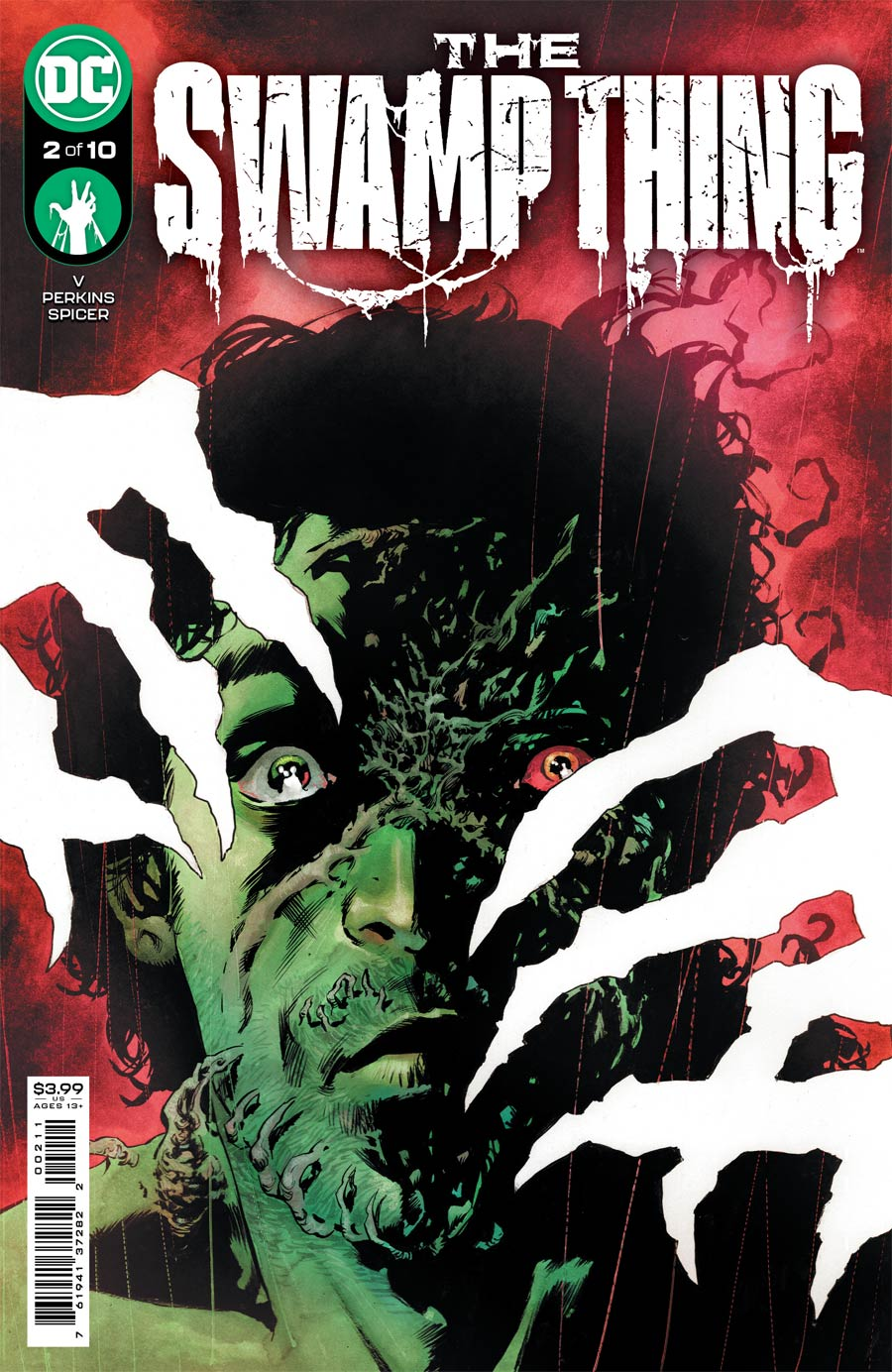 Swamp Thing Vol 7 #2 Cover A Regular Mike Perkins Cover