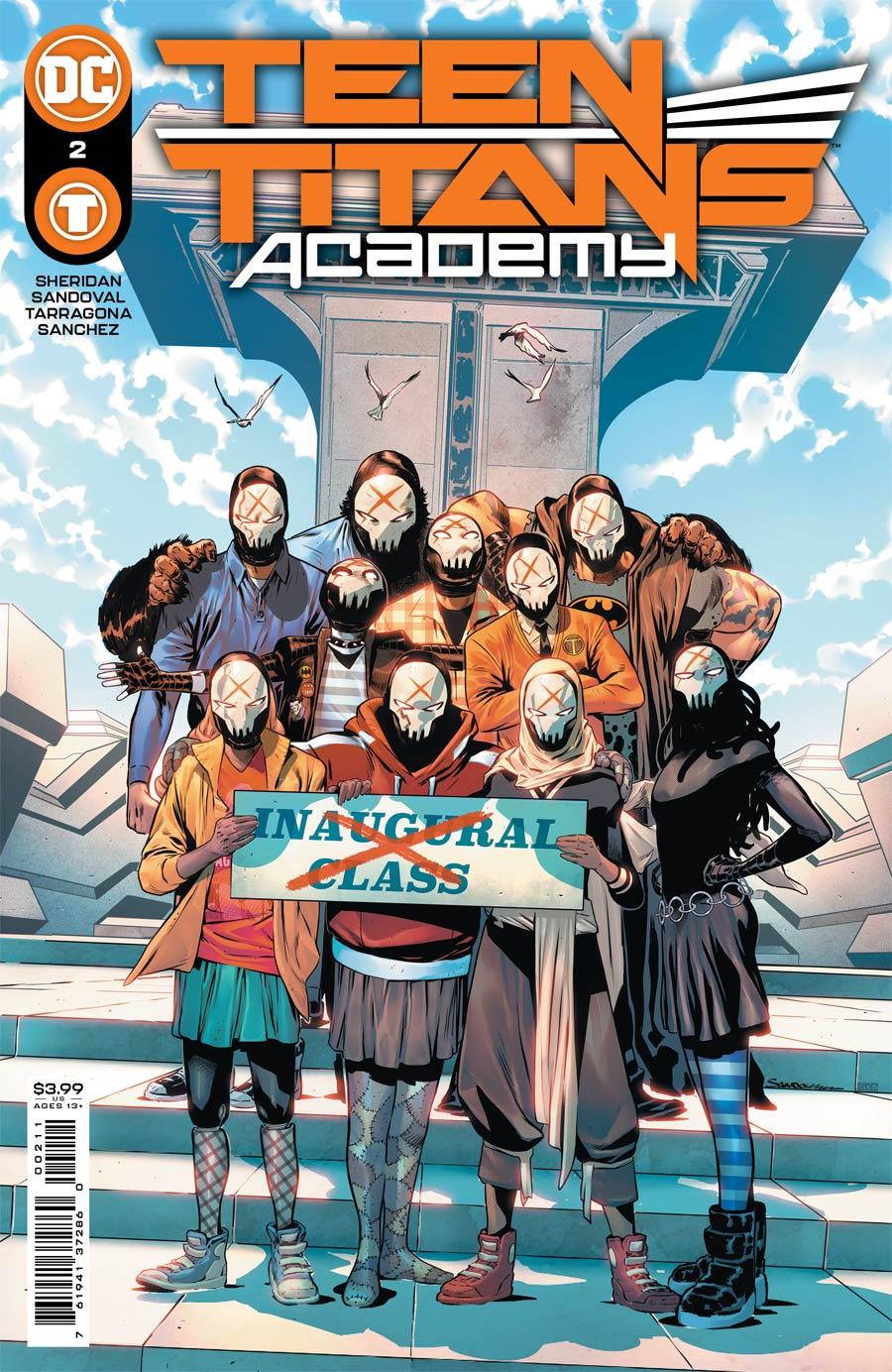 Teen Titans Academy #2 Cover A Regular Rafa Sandoval Cover