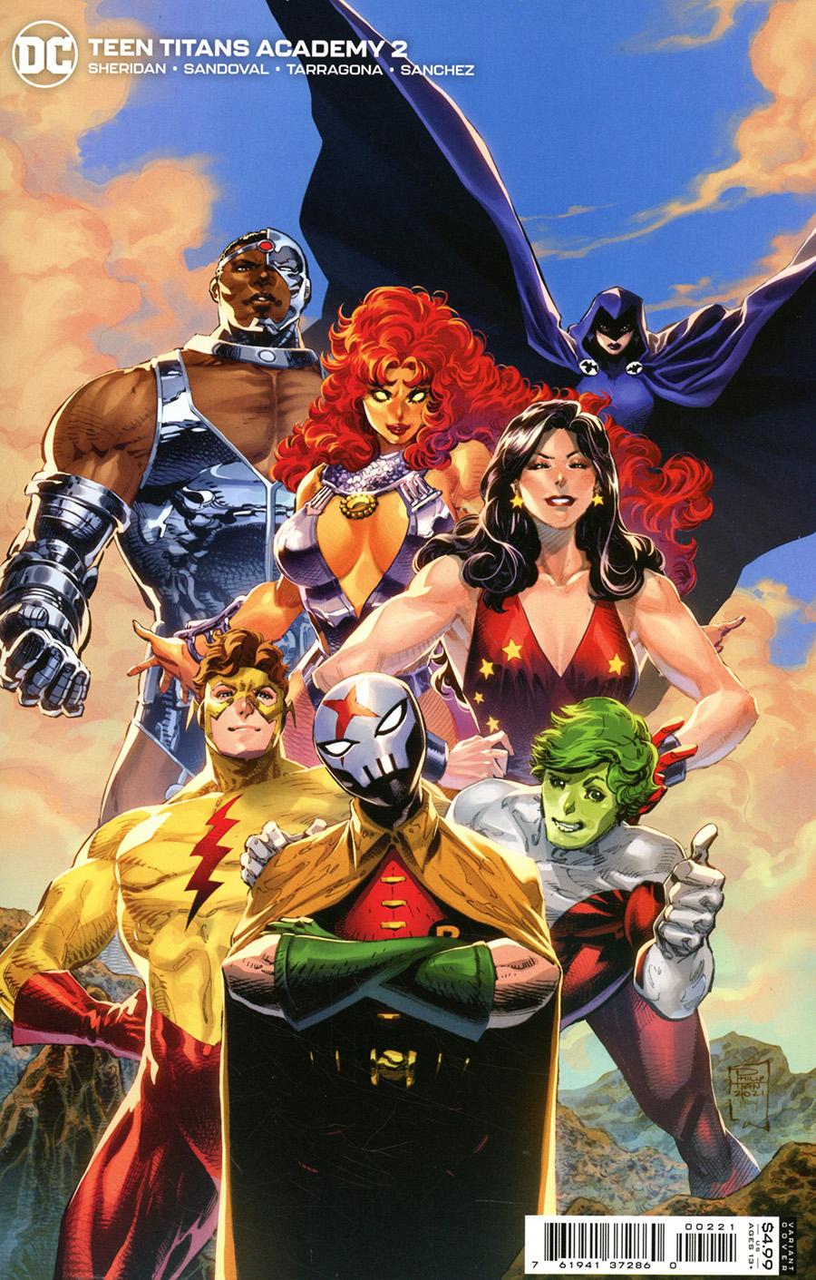 Teen Titans Academy #2 Cover B Variant Philip Tan Card Stock Cover