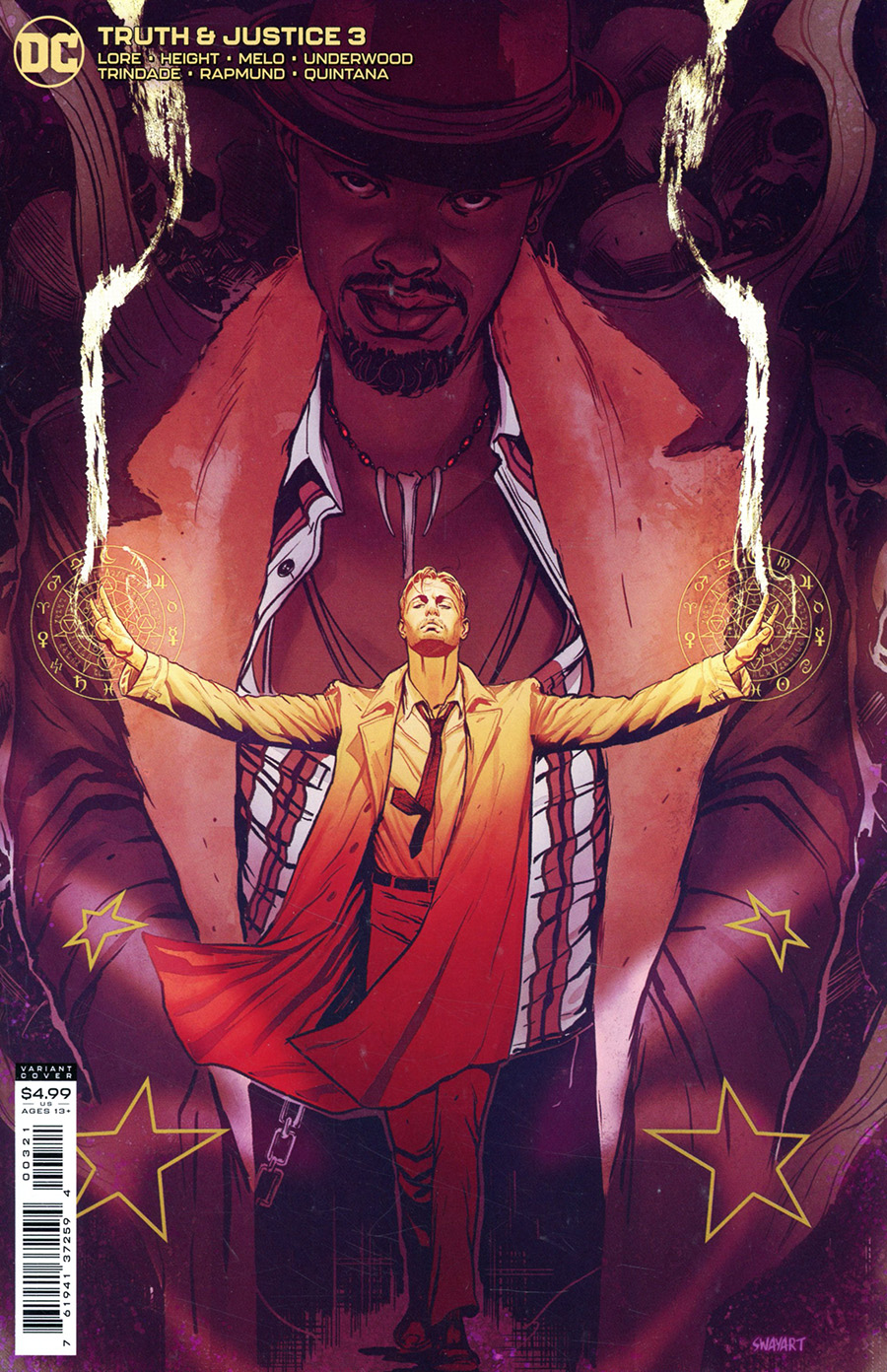 Truth & Justice #3 Cover B Variant Joshua Sway Swaby Cover