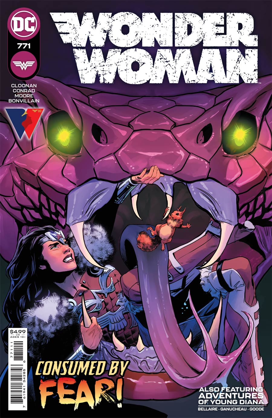 Wonder Woman Vol 5 #771 Cover A Regular Travis Moore Cover