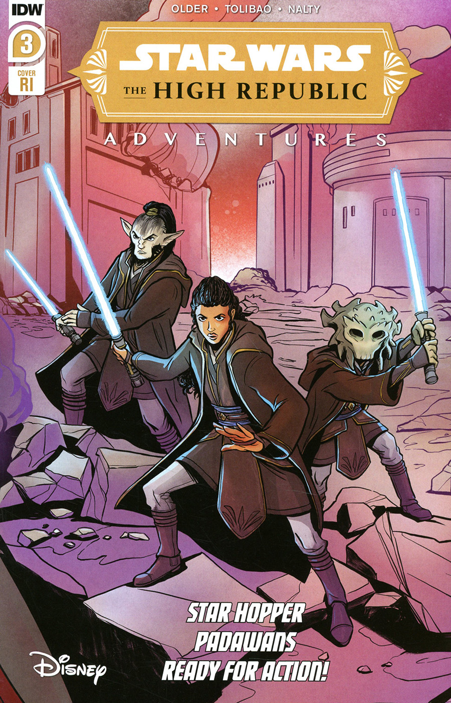 Star Wars High Republic Adventures #3 Cover B Incentive Yael Nathan Variant Cover