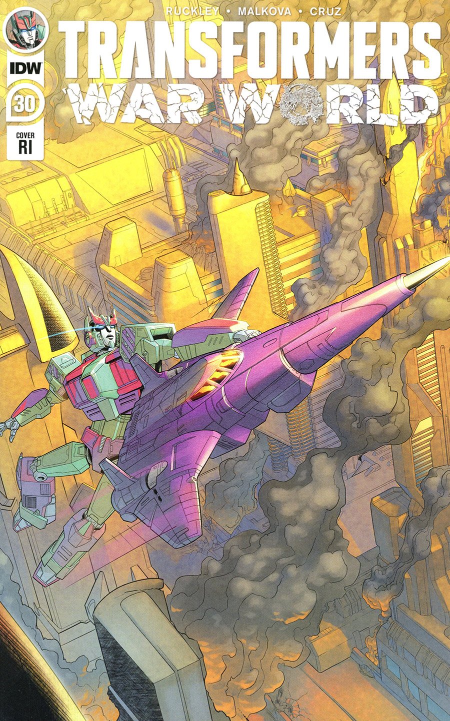 Transformers Vol 4 #30 Cover C Incentive Blacky Shepherd Variant Cover