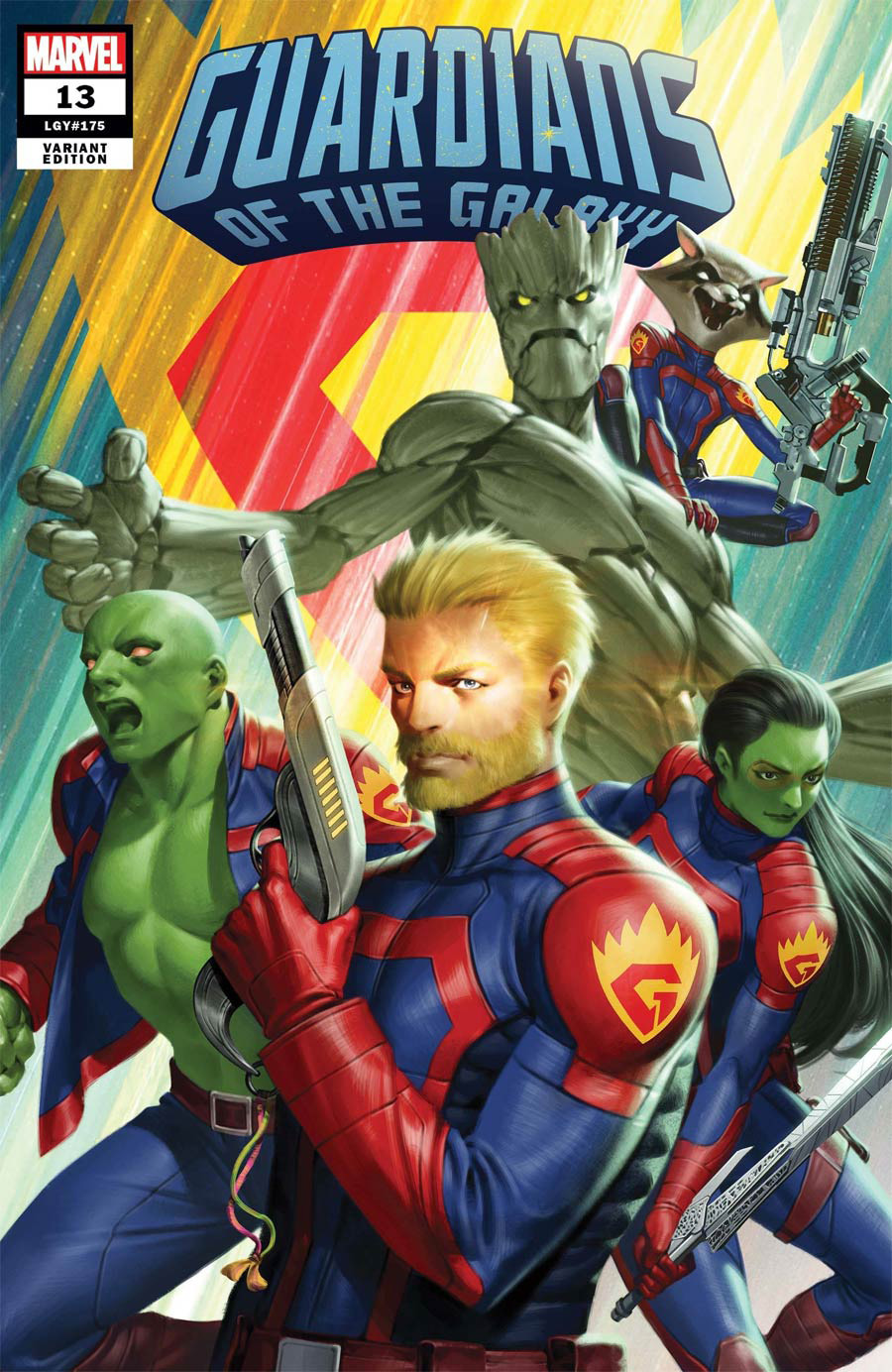Guardians Of The Galaxy Vol 6 #13 Cover E Incentive Junggeun Yoon Variant Cover