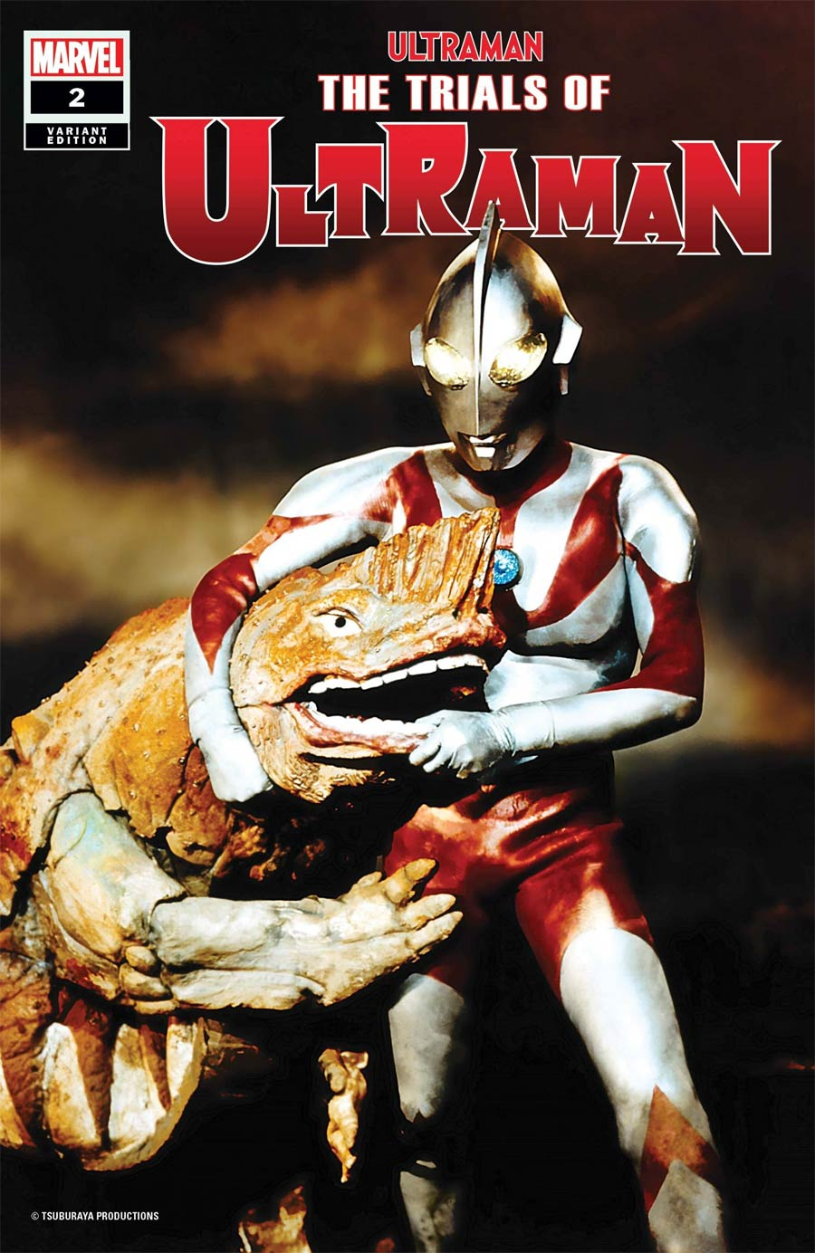 Ultraman Trials Of Ultraman #2 Cover B Incentive TV Photo Variant Cover