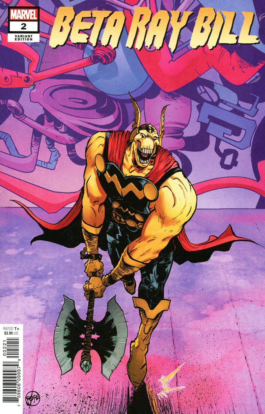 Beta Ray Bill #2 Cover B Incentive Paul Pope Variant Cover